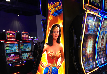 Gaming Visual Communication Bespoke Solutions Digital Lighting Signage Fabrication Slot Machines Video Games Magnetic Signage Super Color Digital