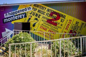 Super Color Digital Monterey International Pop Festival | Pop-Up Museum 1967 | Exhibit | Outdoor Wallpaper | Pop-Up Museum