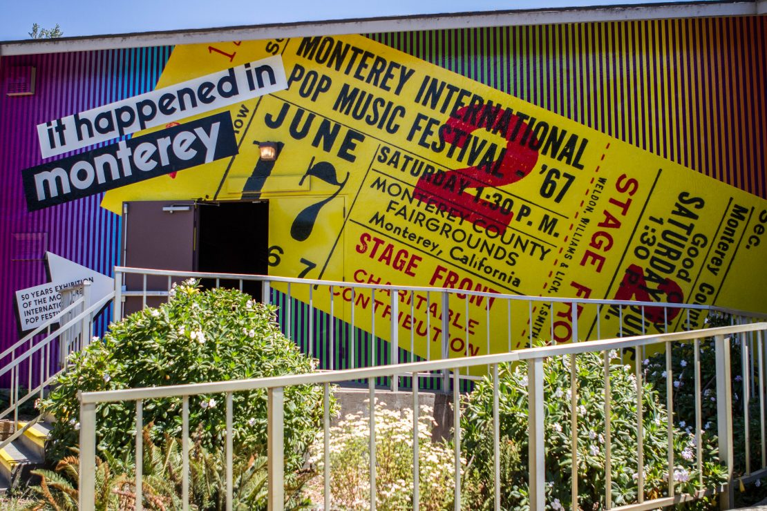 Super Color Digital Monterey International Pop Festival | Pop-Up Museum 1967 | Exhibit | Outdoor Wallpaper | Pop-Up Museum
