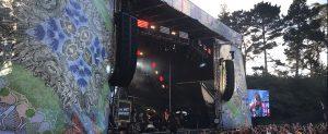 Outside Lands Music Festival Super Color Digital Large Format Printing Concert Graphics Wallpaper DImensional Timeline Fabric Banners Outdoor Interior Design