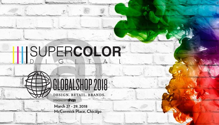 Bespoke Visual Solutions Window Display Super Color Digital