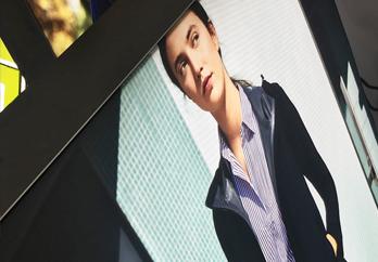 Super Color Digital LED Lighting Lightbox Light Box Visual Communication Solutions RGB Color Bespoke Branding Retail Apparel Fashion Tech Electronics Engineering SEG Framing Fabric Graphics Illuminated