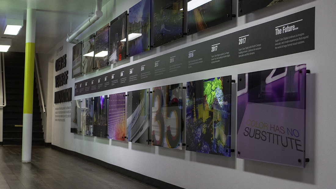 Super Color Digital Revisited Custom Exhibit Experience Super Color Digital Revisited: A Custom Exhibit Experience