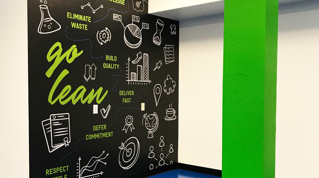 Interior Design Vinyl Wallpaper Plexi Panels Print Color Corporate Office Space Large Format Visual Communications Graphics Decal Branding Marketing Production Super Color Digital