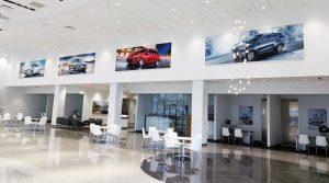 Turn Key Interior Design Visual Solutions Framed Graphics SEG Fabric Printing Super Color Digital Kia