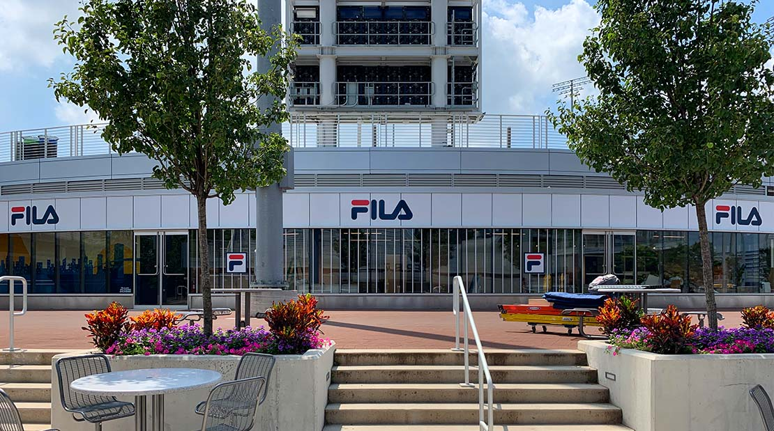 Fila at the US Open