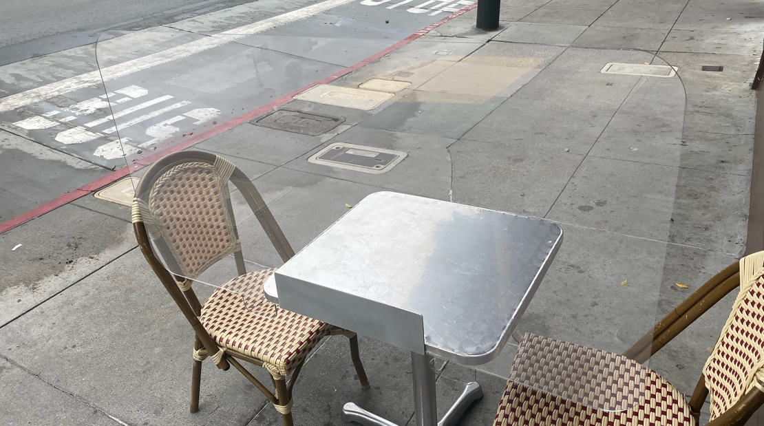 Grants For Orange County Restaurants COVID-19 Social Distancing Decals To-Go Barriers Patio Dining