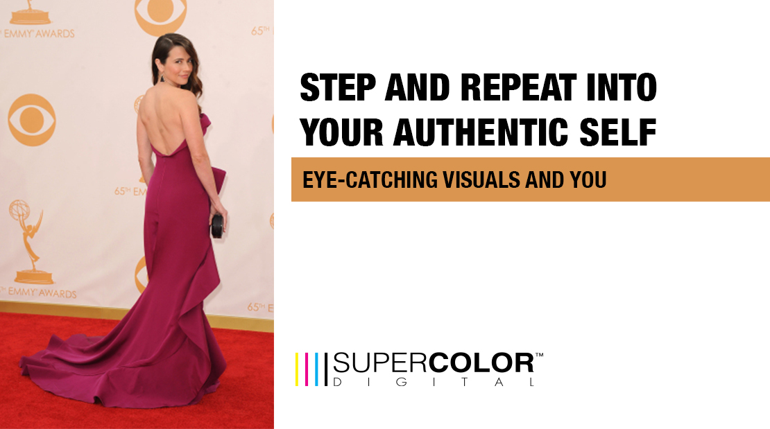 step and repeat eye-catching visuals and you super color digital large format printing