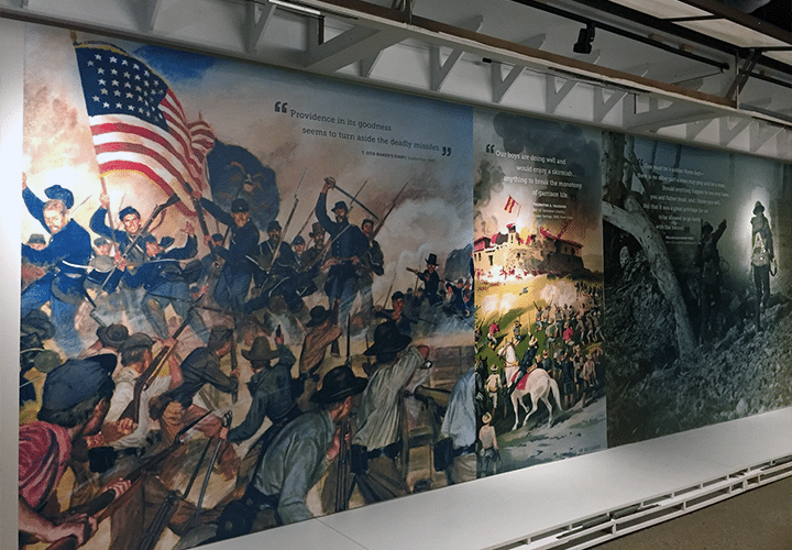 museums exhibits exhibit displays visual communications experiential design large format printing