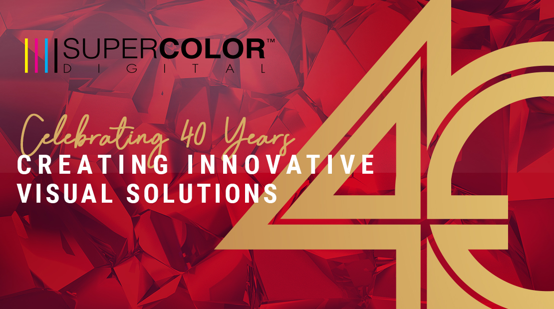 celebrating 40 years visual solutions printing super color digital events